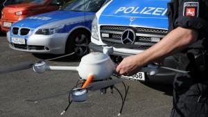 Polizei Drohne