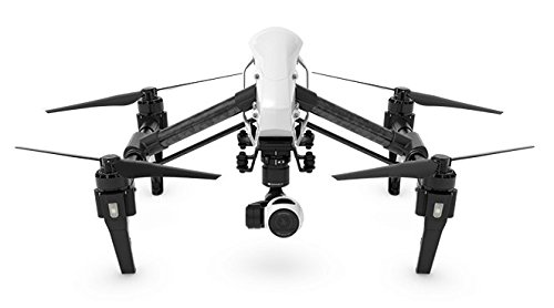 DJI Inspire 1DCF Drone mit Smartphone weiß/schwarz