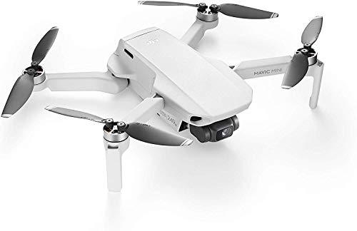 DJI Mavic Mini - Drohne leicht und tragbar, Flugzeit: 30 Min, Übetragungsentfernung: 2 km HD-Videoübertragung, 3-Achsen-Gimbal, 12 MP, HD-Video 2,7 K
